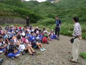 秋田地台 佐々木火山防災官による火山監視に関するおはなし