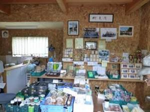木籠の特産がたくさん安価に販売されています。