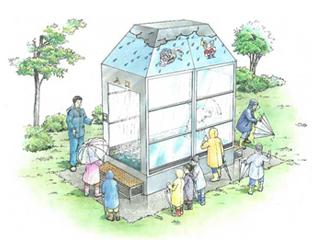 降雨体験装置《自在型》